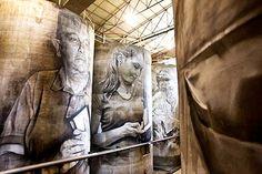#INSPIRACIÓN. #Murales gigantes de Guido van Helten en Solar de Samaniego Leer más: http://www.colectivobicicleta.com/2016/11/murales-guido-van-helten-samaniego.html