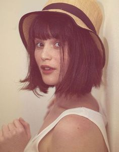 blunt bob with bangs - Google Search