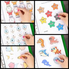 , This printable ocean animals activity book is a fun basic learning for preK and . , This printable ocean animals activity book is a fun basic learning for preK and K. Kindergarten Learning, Preschool Learning Activities, Animal Activities, Preschool Activities, Teaching Kids, Activities For Kids, Fun Learning, Educational Activities, English Activities