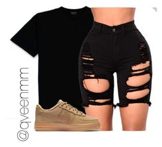 """""""Untitled #528"""" by qveenmm on Polyvore featuring NIKE"""