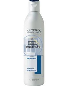Matrix -sosilver shampoo.  Tried it? Shampoo For Gray Hair, 400m, Silver Foxes, Aging Gracefully, Grey Hair, Hair Products, Health And Beauty, Hair Beauty, Hairstyles