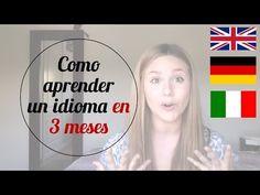Como aprender un idioma en 3 meses   Alziur - YouTube