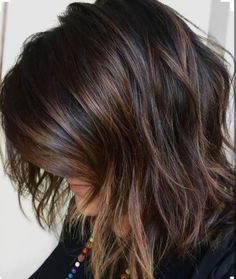 Brunette bayalage with chocolate highlights. when i see all these fall hair color for brunettes balayage brown caramel it always makes me jealous i wish i could do something like that I absolutely love this fall hair color for brunettes balayage brown caramel so pretty! Perfect!!!!!