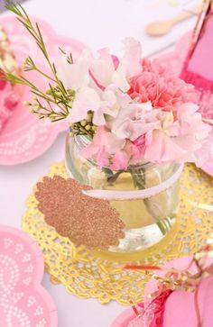 Pink and Gold Pinkalicious Party | A Blissful Nest