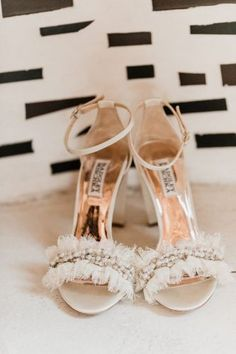 shoes bride heels Ryan + Jennifer, a Sarabande Bed and Breakfast Wedding — Alicia Lucia Photography: Albuquerque and Santa Fe New Mexico Wedding and Portrait Photographer Bridal Shoes Wedges, White Bridal Shoes, Bridal Flats, Bridal Jewelry, Wedding Shoes Bride, Wedding Shoes Heels, Bride Shoes, Wedding Bed, Unique Wedding Shoes