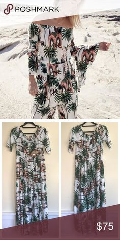 803a9ab4404 NWT Australian LF Jaase tropical boho jumpsuit Cute! Beautiful bohemian and  super soft - perfect