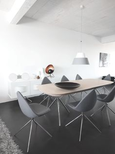 International Awarded Ottawa Dining Table Designed By Karim Rashid