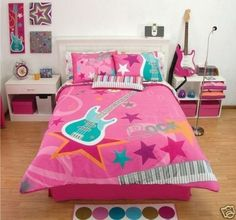 Decoration for Girls Room : Music Theme Decoration For Girls Room