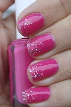 girly nails tumblr essie | Essie Secret Story. Nails from grapefizz. I'm lovin' the whole half ...