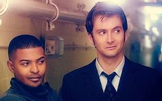 that moment when they are both looking at Rose Tyler.<3