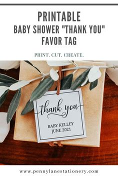Not ready to do a gender reveal or want to keep your future baby girl or baby boy a secret? These gender neutral and elegant thank you favor tags will keep your secret. Keep your friends and family guessing with no hint of blue or pink anywhere on theses baby shower favor tag printables. In an elegant and classic style that you can edit, download and print so easily. And use all that money you saved on a future mommy to be spa day!