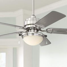 Shop online for Casa Vieja Outdoor Ceiling Fan with Light LED Brushed Nickel Wet Rated for Patio Porch Asian Ceiling Fans, Tropical Ceiling Fans, Best Ceiling Fans, Outdoor Ceiling Fans, Ceiling Fan Chandelier, Flush Mount Ceiling Fan, Led Ceiling, Ceiling Fan Makeover, Brushed Nickel Ceiling Fan