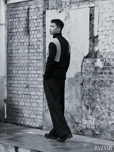 Park Seo Joon - Harper's Bazaar Magazine January Issue '17