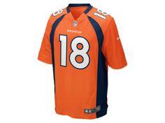 NFL Denver Broncos (Peyton Manning) Herren American Football Heimtrikot
