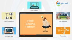 Video sharing platforms playing a major role in video market for entertainment and for enterprises to increase their revenue. Phando, video platform is designed to help you create value with video. With wide range of features and powerful tools you'll quickly expand your audience, generate revenue, and create more effective digital communications. To know more visit: http://www.phando.com