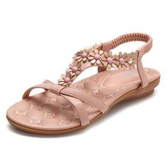 Bohemia Floral Peep Toe Slip On Soft Flat Sandals is comfortable to wear. Shop on NewChic to see other cheap women sandals on sale. Bustiers, Sandals For Sale, Flat Sandals, Cheap Womens Shoes, Cheap Shoes, Sandal Price, Peep Toe Flats, Wholesale Shoes, Buy Shoes