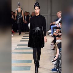 See all the looks from the collection Fashion News, Mens Fashion, Azzedine Alaia, Ralph And Russo, Naomi Campbell, Paris, Jean Paul Gaultier, Lace Skirt, Ideias Fashion