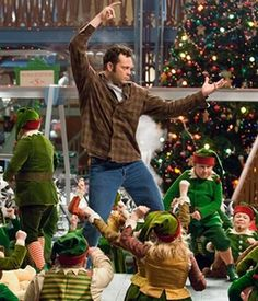 "Fred Claus ""Rubberneckin'"".  ""Let's make some bad decisions with each other!"""