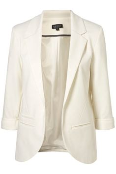 White blazer! My must-have for spring.