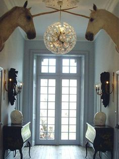 The entrance of the Chateau de la Goujeonnerie - fantasy and elegance combined beautifully to create maximum impact.