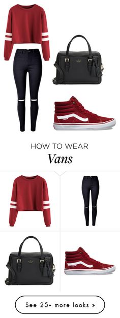 """""""i gotta have"""" by iluvfashi0n on Polyvore featuring Vans and Kate Spade"""
