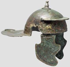 Roman Weisenau helmet, second half 1st century A.D. Private collection