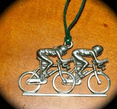 BICYCLE ORNAMENTS, ROAD BIKE ORNAMENTS, MOUNTAIN BIKE ORNAMENTS, TANDEM ORNAMENTS |decor decoration holiday Christmas  http://www.biketalker.com