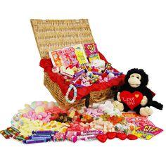 Cheeky Monkey' Romantic Sweet Hamper by £36.99 - The Wedding Gift Company