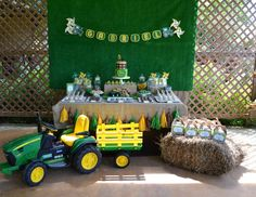 """John Deere / tractor / Birthday """"Tractor Party"""" 