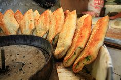 Clay Oven Roll, Chinese Food, Taipei, Taiwan 金華街燒餅油條