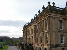 Chatsworth House (aka PEMBERLY-Mr. Darcy's house). Love pride and prejudice!