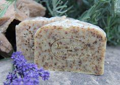 Lavender-natural handmade soap Bath Products, Handmade Soaps, Bath Salts, Bath Bombs, Lavender, Artisan, Natural, Food, Soap