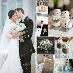 A Winter Wedding Wonderland   Beau-coup Wedding Blog