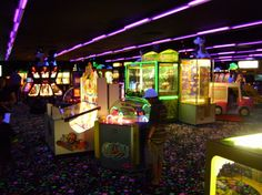"""""""The arcade: a place where you can be a kid and relive it."""""""