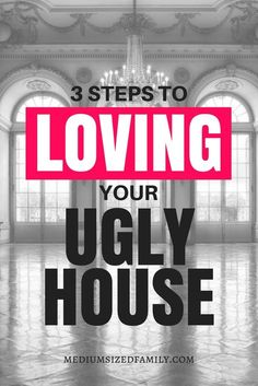 Is your ugly house too old, too small, or just not a good fit? Grab these ideas for giving your house a makeover. #houseideas