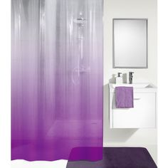 Premier Housewares 1601508 Cristallo Badezimmer Set 4-St/ück lila