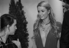 La belle Paris Hilton, dans les coulisses de #NMA mise en beauté par l'équipe Studio Franck Provost. Paris Hilton, Music Awards 2014, Nrj Music, Franck Provost, Studio, Fashion, Moda, Studios, Fasion