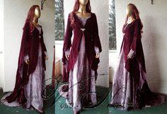 Elven gown Rivendell elf The Hobbit costume