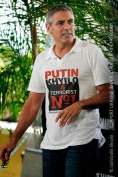 """Джордж Клуни: """"Я всегда поддерживал украинцев в их борьбе за свободу.Мне…"""