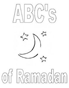 ABC's of Ramadan Colouring Book | handmade beginnings
