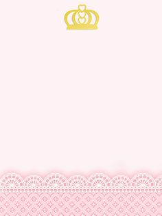 Montando minha festa: Kit digital gratuito para imprimir Princess - Coroa de Princesa Rosa! Princess Theme, Princess Birthday, 1st Birthday Parties, Birthday Cards, Kit Digital, Baby Shawer, Baby Clip Art, Printable Pictures, Paris Party