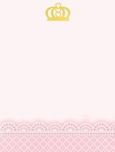Montando minha festa: Kit digital gratuito para imprimir Princess - Coroa de…