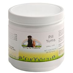 Spring Pet Pill Yums  Tasty Pocket Treat to Hide Your Pets Medication  Simply Insert Pill or Capsule in Chewy Hole Pinch the Ends Closed and Give As a Treat to Your Dog or Puppy  Recommended by Veterinarians Small 125 Count Review https://drydogfoodreviews.info/spring-pet-pill-yums-tasty-pocket-treat-to-hide-your-pets-medication-simply-insert-pill-or-capsule-in-chewy-hole-pinch-the-ends-closed-and-give-as-a-treat-to-your-dog-or-puppy-recommended-by/