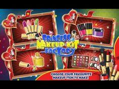 Princess Makeup Factory Kids Fun Studio Android İos  Free Game GAMEPLAY ...