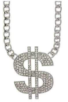 Peces - Chunky Dollar Sign Necklace, $15.99 (http://www.shoppeces.com/chunky-dollar-sign-necklace/)