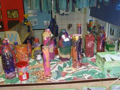 Jungle - the children made rain makers in continuous provision Continuous Provision Eyfs, Katie Morag, Early Years Teaching, Classroom Images, Animal Antics, Jungle Theme, Primary School, Nursery Ideas, School Ideas