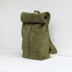 suede backpack I khaki store.mumand.co