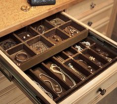 Jewelry Drawer Organizer Trays Stackable Trays by Neatnix