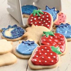 Berry Cookie Cutter Set