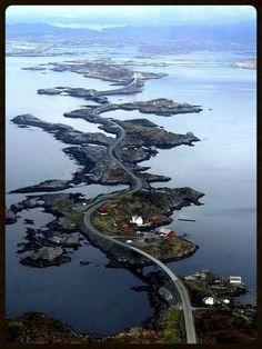 Great Atlantic Road, Norway